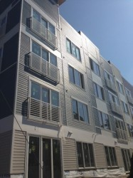 60 Custom Aluminum Balconies on New Construction